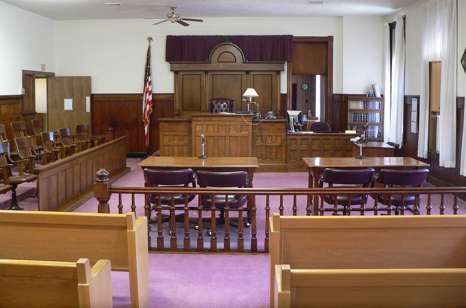 Courtroom - Self Defense Insurance