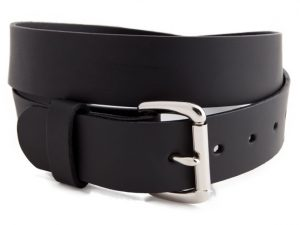 Versacarry Concealed Carry Single Ply Leather Belt Black