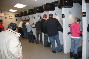 students qualifying for their concealed carry license