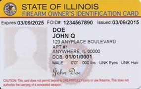 Illinois FOID Card