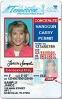 Tennessee Handgun Permit